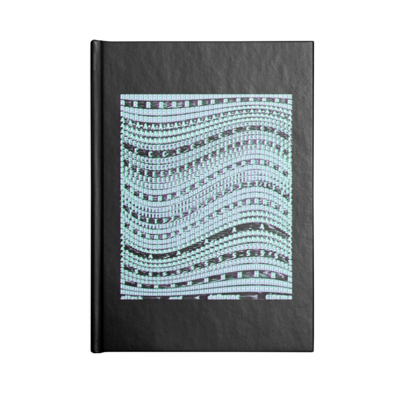 ATTACK AND DETHRONE CINEMA (RACER TRASH TRIBUTE) Accessories Notebook by HORSEDOZER