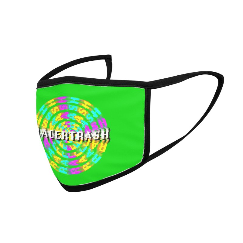 SPINNING UP (RACER TRASH TRIBUTE) Accessories Face Mask by HORSEDOZER