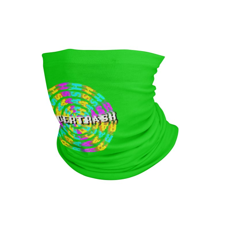 SPINNING UP (RACER TRASH TRIBUTE) Accessories Neck Gaiter by HORSEDOZER
