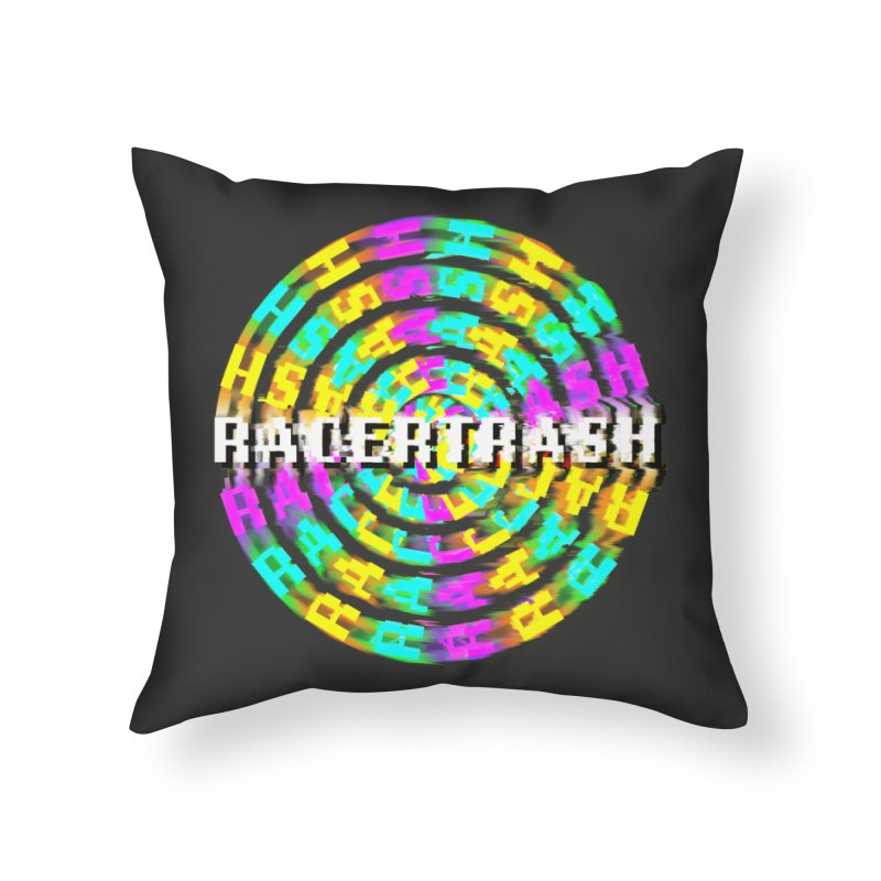 SPINNING UP (RACER TRASH TRIBUTE) Home Throw Pillow by HORSEDOZER