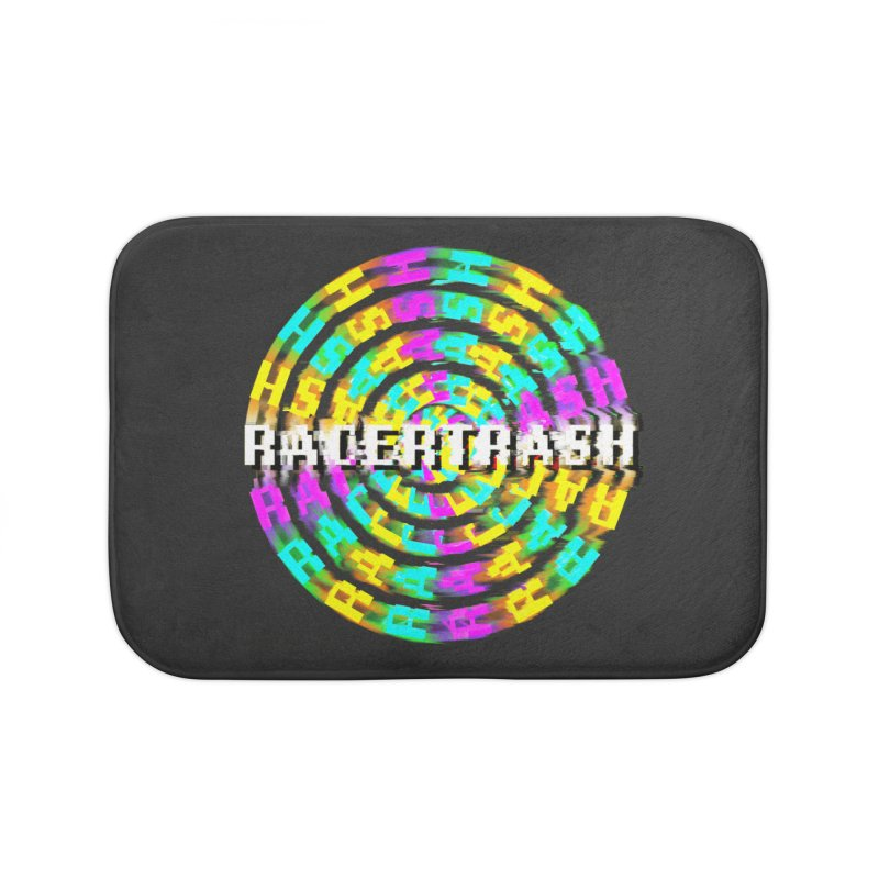 SPINNING UP (RACER TRASH TRIBUTE) Home Bath Mat by HORSEDOZER