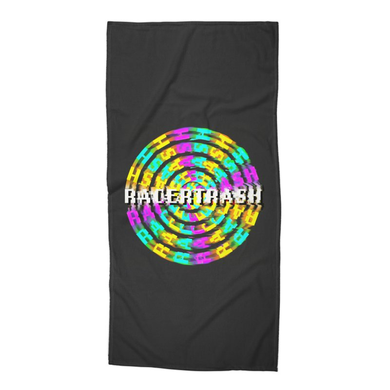 SPINNING UP (RACER TRASH TRIBUTE) Accessories Beach Towel by HORSEDOZER