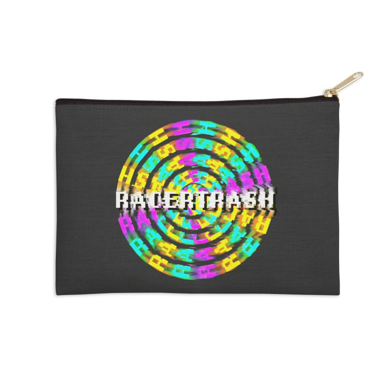 SPINNING UP (RACER TRASH TRIBUTE) Accessories Zip Pouch by HORSEDOZER