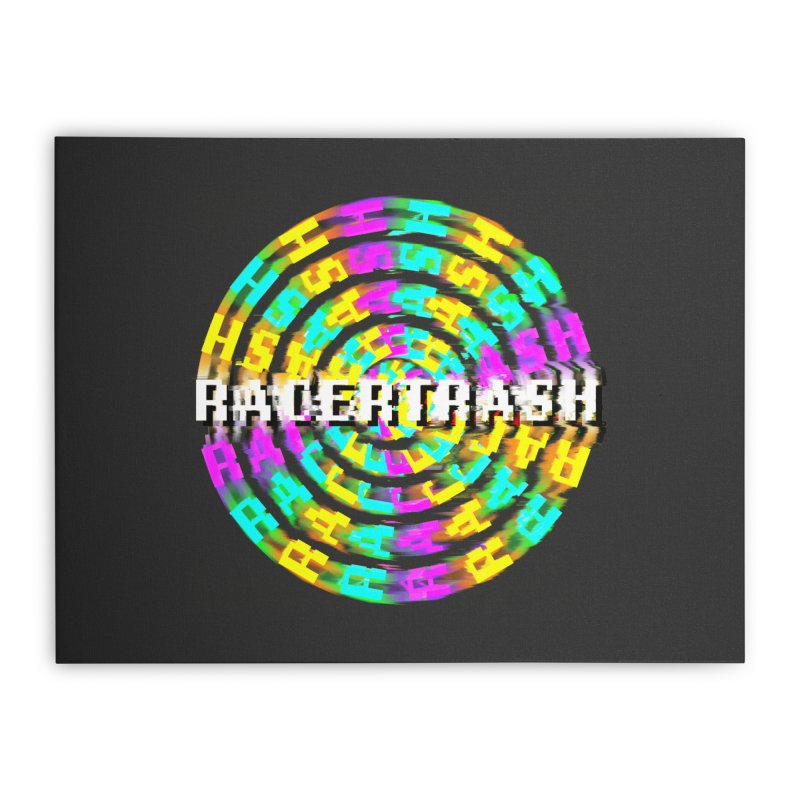 SPINNING UP (RACER TRASH TRIBUTE) Home Stretched Canvas by HORSEDOZER