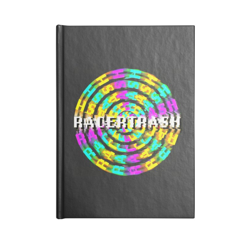SPINNING UP (RACER TRASH TRIBUTE) Accessories Notebook by HORSEDOZER