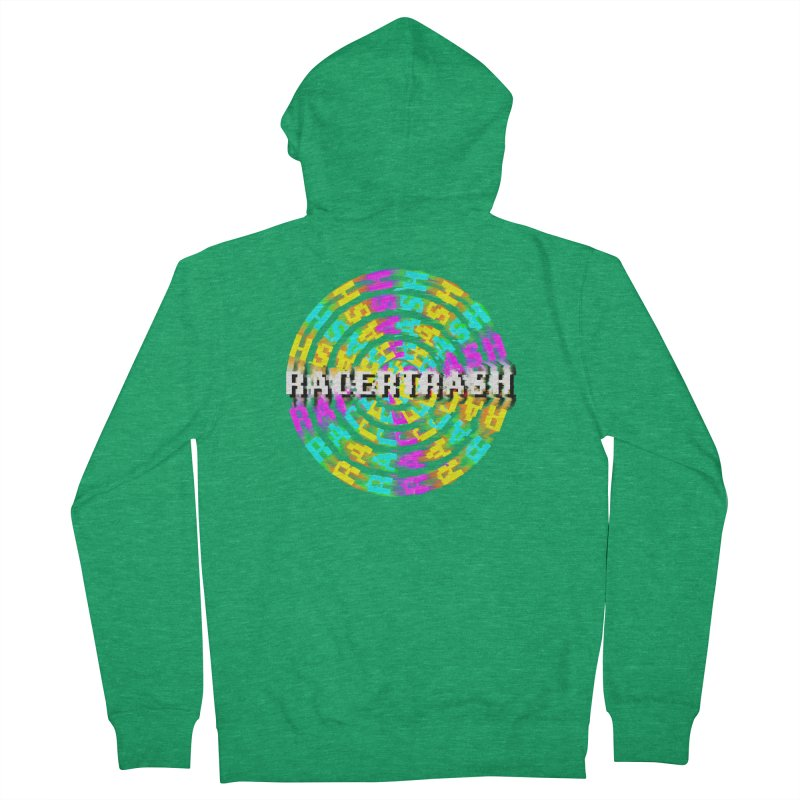 SPINNING UP (RACER TRASH TRIBUTE) Women's Zip-Up Hoody by HORSEDOZER