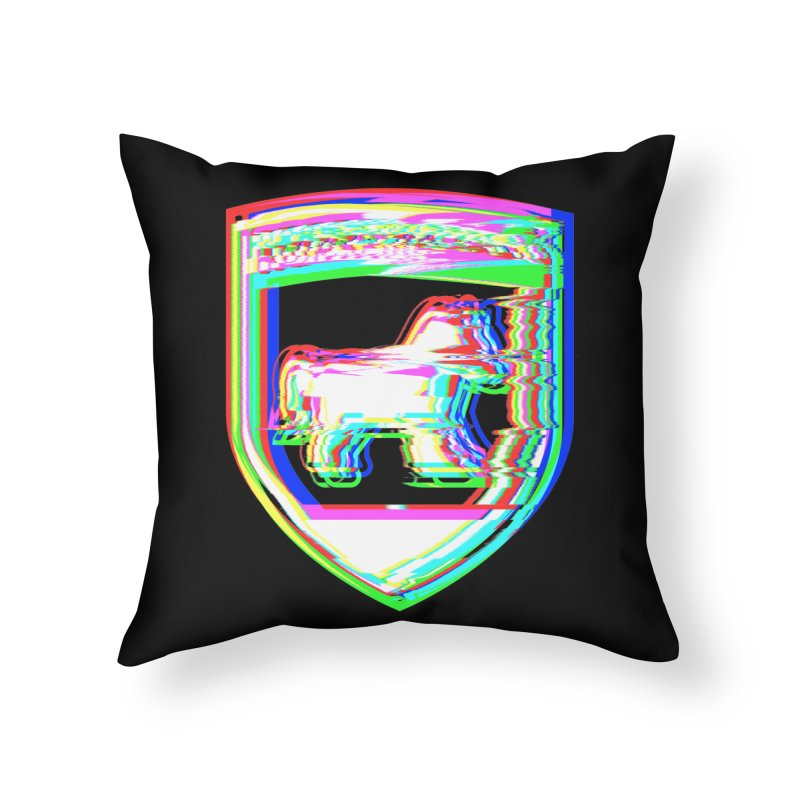HORSEDOZER SHIELDWAVE (SS/21) Home Throw Pillow by HORSEDOZER