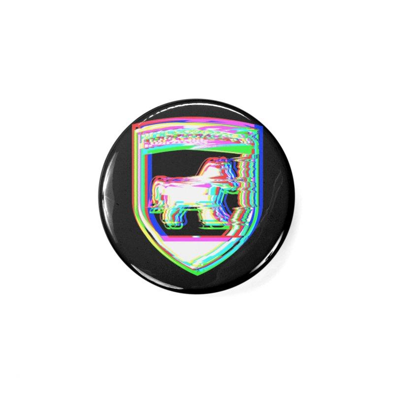 HORSEDOZER SHIELDWAVE (SS/21) Accessories Button by HORSEDOZER