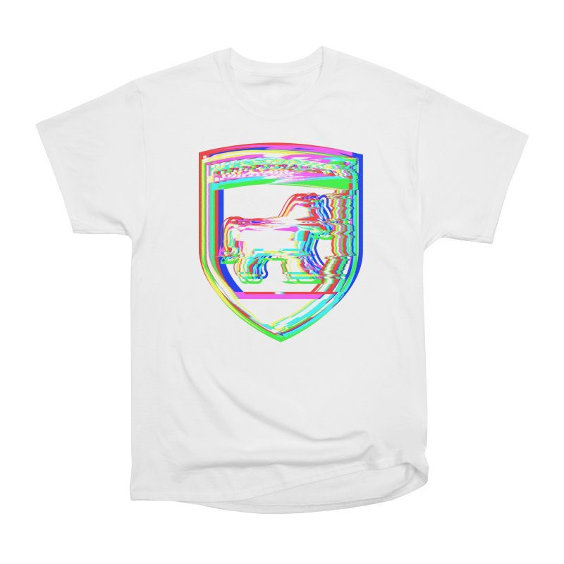 HORSEDOZER SHIELDWAVE Women's T-Shirt by HORSEDOZER