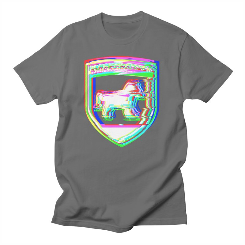 HORSEDOZER SHIELDWAVE Men's T-Shirt by HORSEDOZER