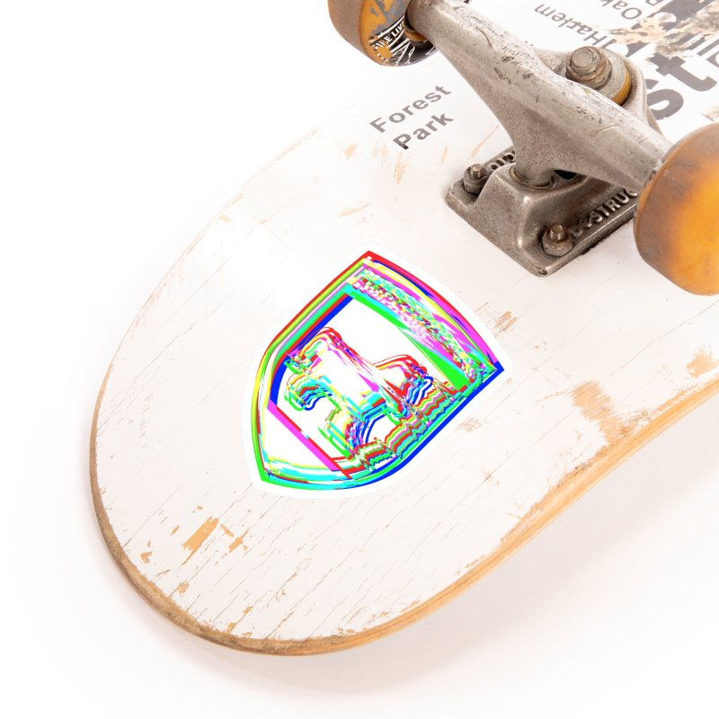 HORSEDOZER SHIELDWAVE (SS/21) Accessories Sticker by HORSEDOZER