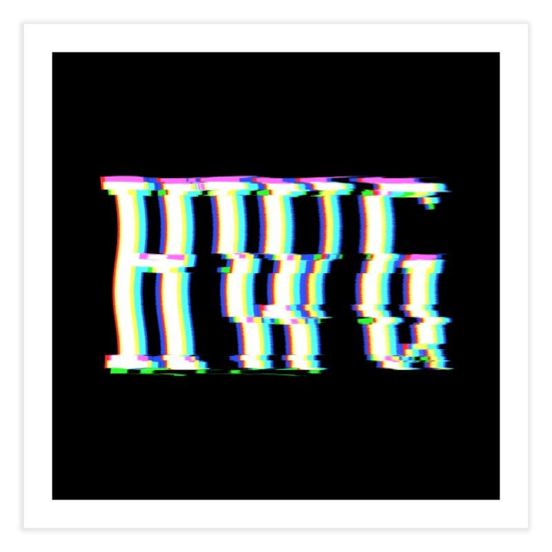 HWG (RACER TRASH TRIBUTE) Home Fine Art Print by HORSEDOZER