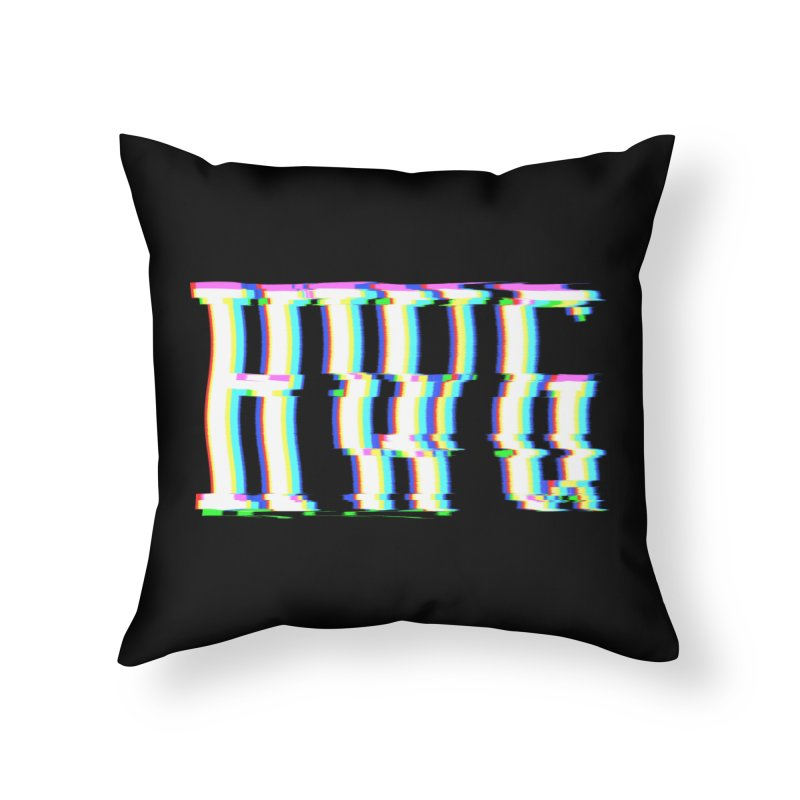HWG (RACER TRASH TRIBUTE) Home Throw Pillow by HORSEDOZER
