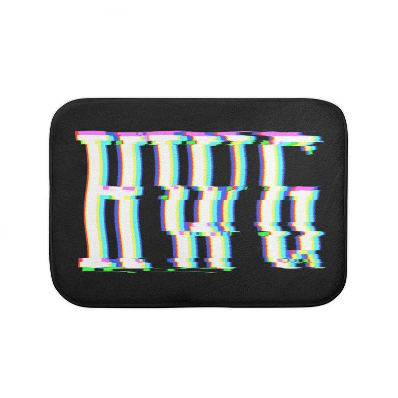 HWG (RACER TRASH TRIBUTE) Home Bath Mat by HORSEDOZER