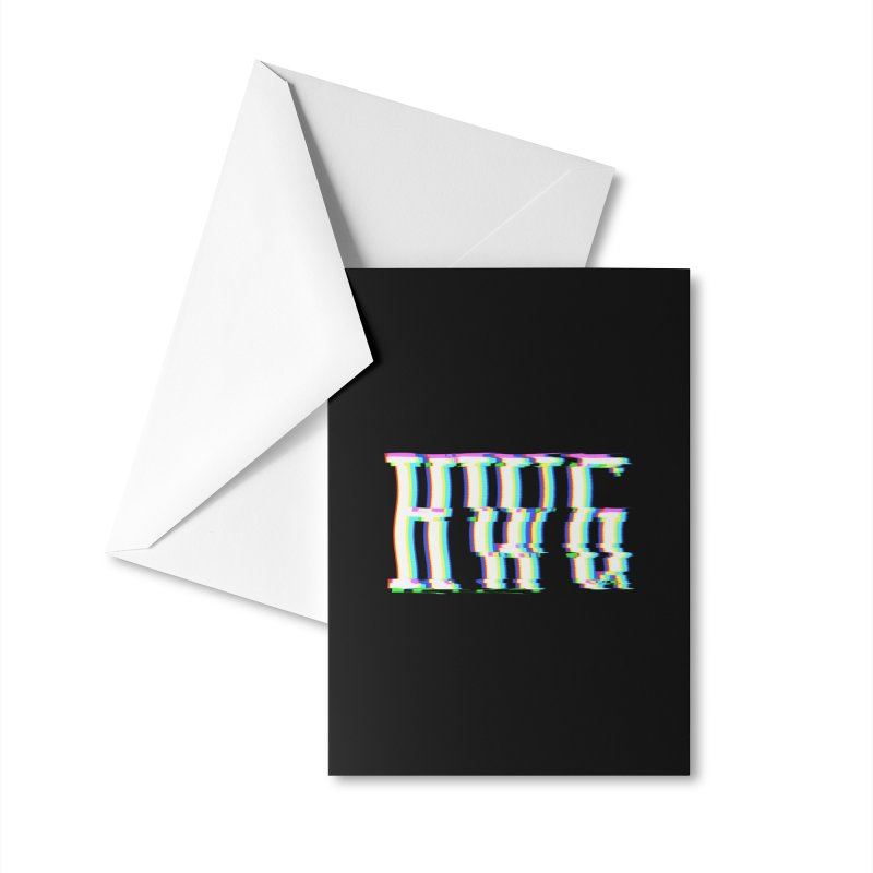 HWG (RACER TRASH TRIBUTE) Accessories Greeting Card by HORSEDOZER