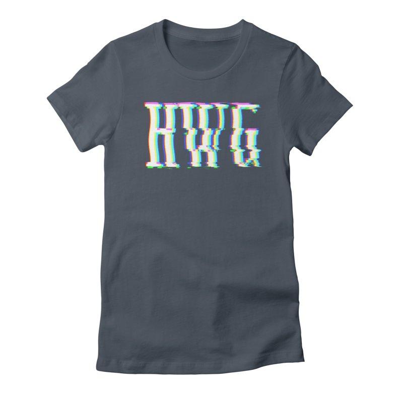 HWG (RACER TRASH TRIBUTE) Women's T-Shirt by HORSEDOZER