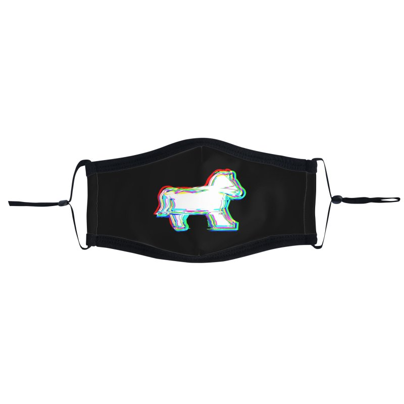 HORSEDOZER ICONWAVE (SS/21) Accessories Face Mask by HORSEDOZER
