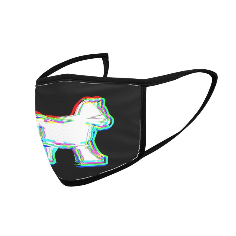 HORSEDOZER ICONWAVE Accessories Face Mask by HORSEDOZER