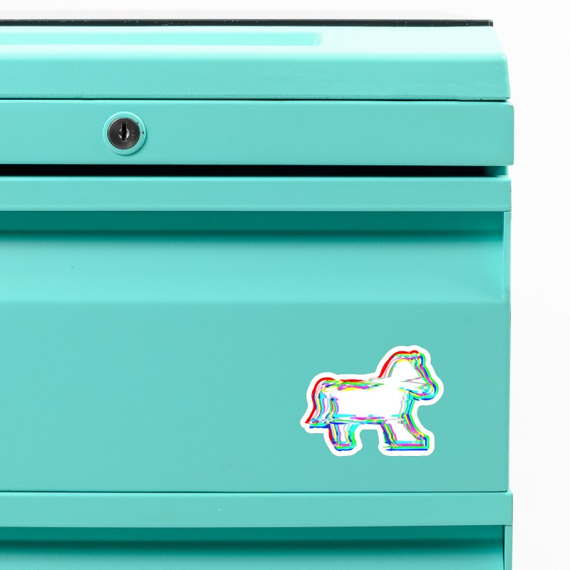 HORSEDOZER ICONWAVE (SS/21) Accessories Magnet by HORSEDOZER