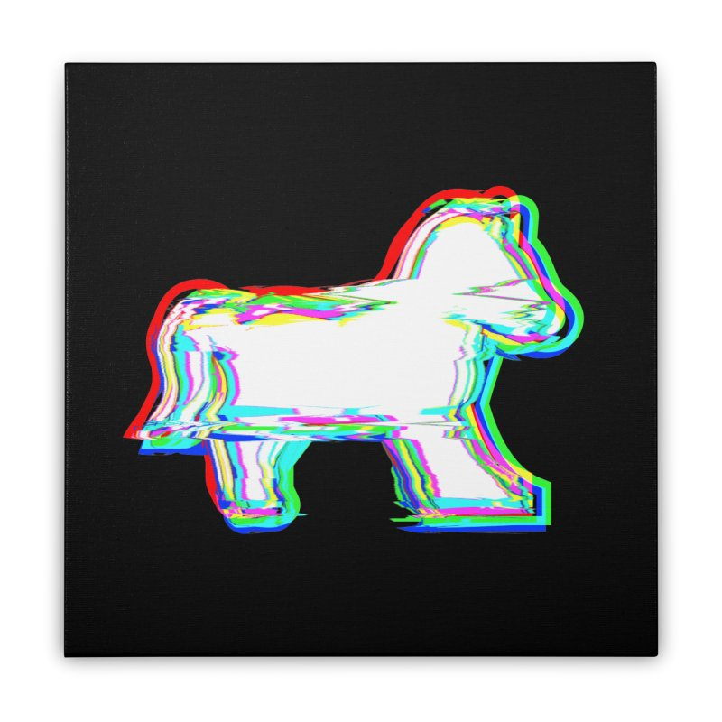 HORSEDOZER ICONWAVE (SS/21) Home Stretched Canvas by HORSEDOZER