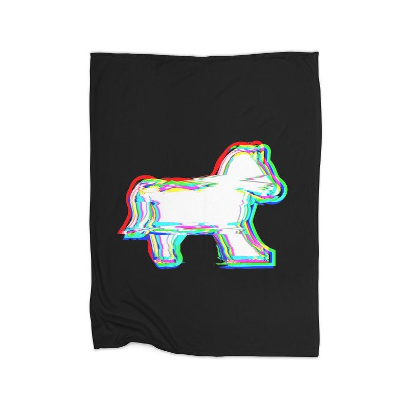HORSEDOZER ICONWAVE (SS/21) Home Blanket by HORSEDOZER