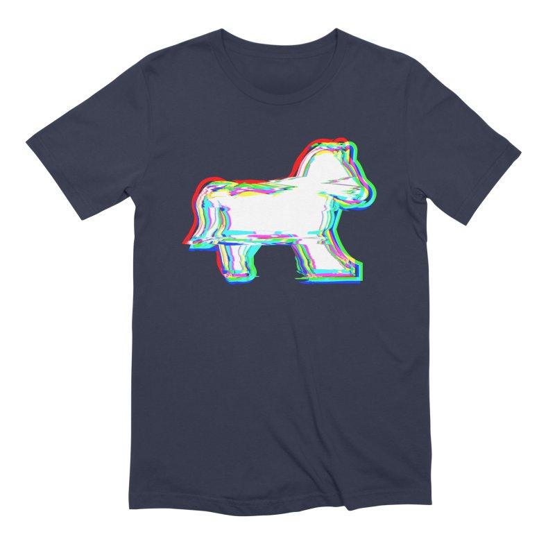 HORSEDOZER ICONWAVE Men's T-Shirt by HORSEDOZER