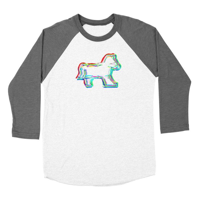 HORSEDOZER ICONWAVE Women's Longsleeve T-Shirt by HORSEDOZER