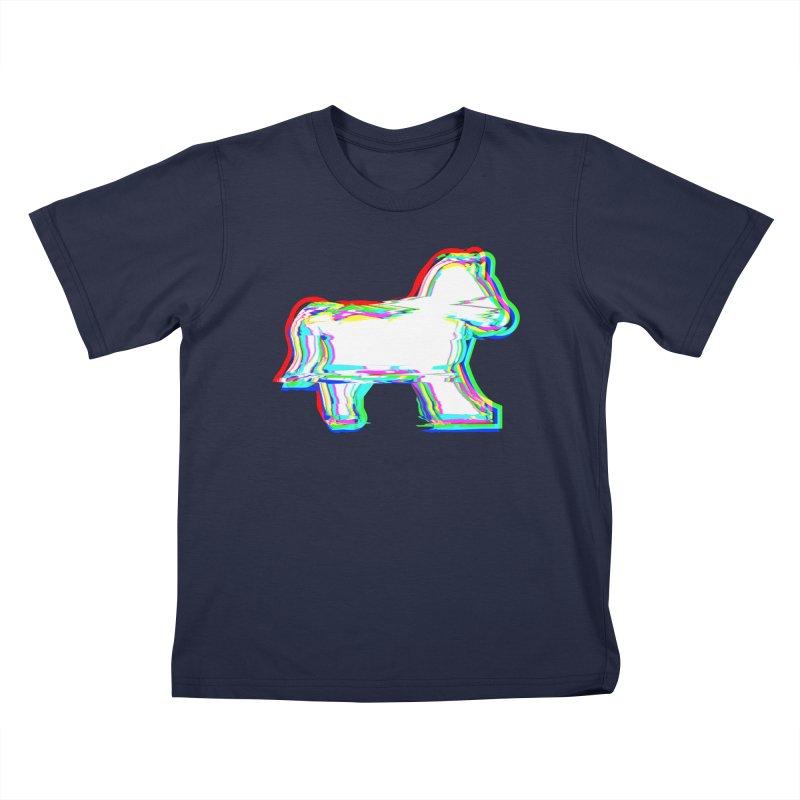 HORSEDOZER ICONWAVE (SS/21) Kids T-Shirt by HORSEDOZER