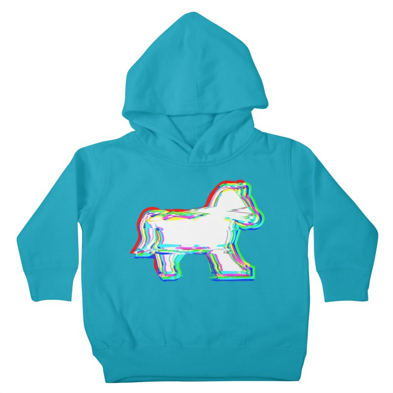 HORSEDOZER ICONWAVE (SS/21) Kids Toddler Pullover Hoody by HORSEDOZER