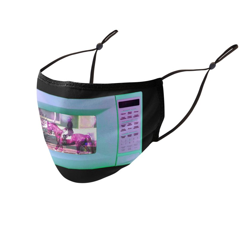 HORSEDOZER MICROWAVE Accessories Face Mask by HORSEDOZER