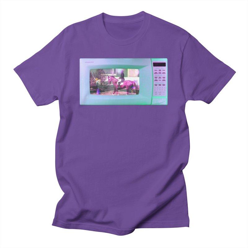 HORSEDOZER MICROWAVE Men's T-Shirt by HORSEDOZER