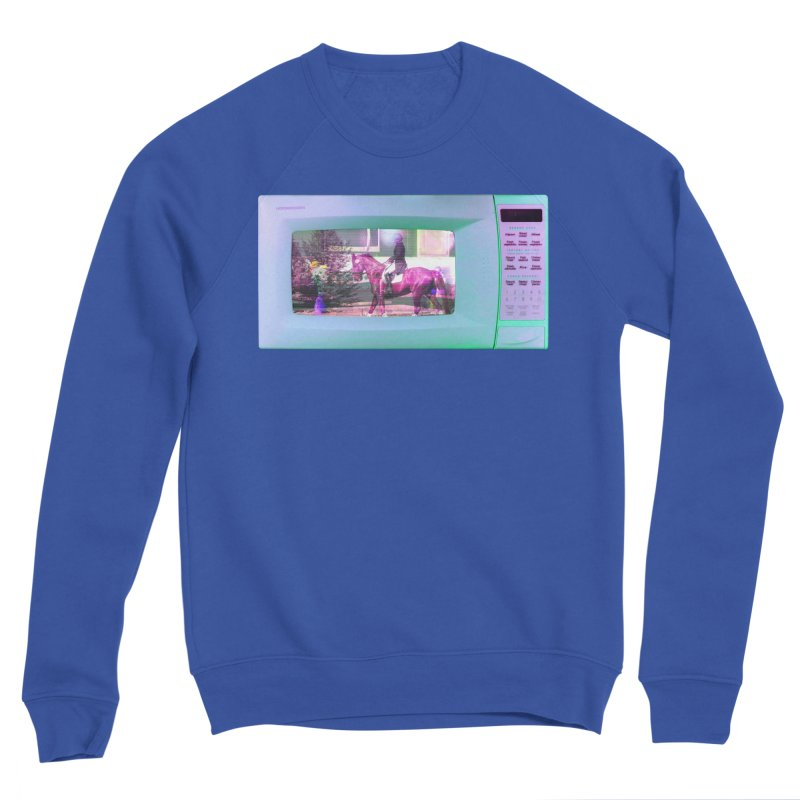 HORSEDOZER MICROWAVE Men's Sweatshirt by HORSEDOZER
