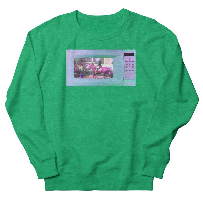 HORSEDOZER MICROWAVE Women's Sweatshirt by HORSEDOZER