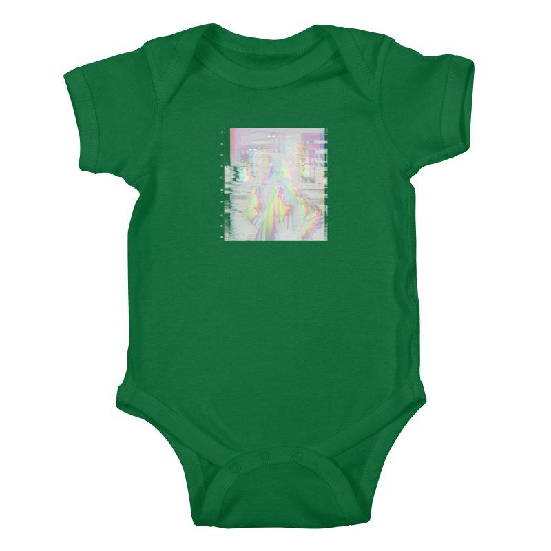 HORSEDOZER SMOKEWAVE Kids Baby Bodysuit by HORSEDOZER