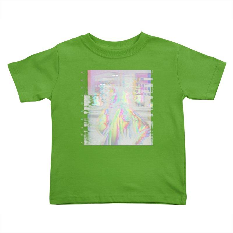 HORSEDOZER SMOKEWAVE Kids Toddler T-Shirt by HORSEDOZER