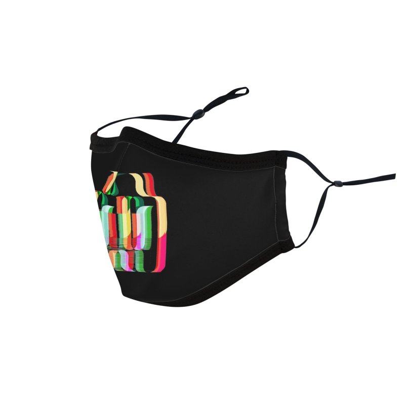 #MW-RAVES (TRIBUTE DESIGN) Accessories Face Mask by HORSEDOZER