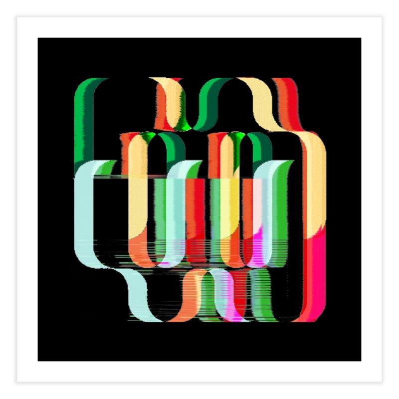 #MW-RAVES (TRIBUTE DESIGN) Home Fine Art Print by HORSEDOZER