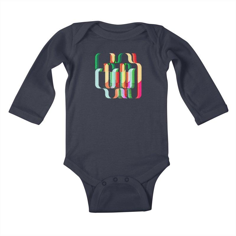 #MW-RAVES (TRIBUTE DESIGN) Kids Baby Longsleeve Bodysuit by HORSEDOZER