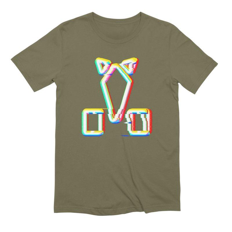 HORSEDOZER SIGNWAVE Men's T-Shirt by HORSEDOZER