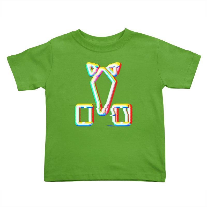 HORSEDOZER SIGNWAVE Kids Toddler T-Shirt by HORSEDOZER