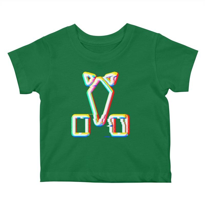 HORSEDOZER SIGNWAVE Kids Baby T-Shirt by HORSEDOZER