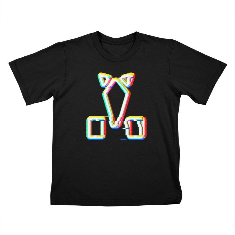 HORSEDOZER SIGNWAVE Kids T-Shirt by HORSEDOZER