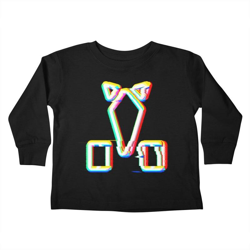 HORSEDOZER SIGNWAVE Kids Toddler Longsleeve T-Shirt by HORSEDOZER