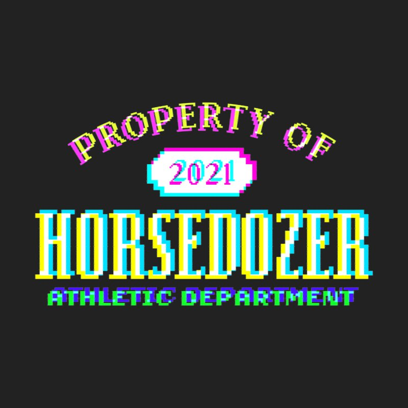 HORSEDOZER ATHLETICWAVE Men's T-Shirt by HORSEDOZER