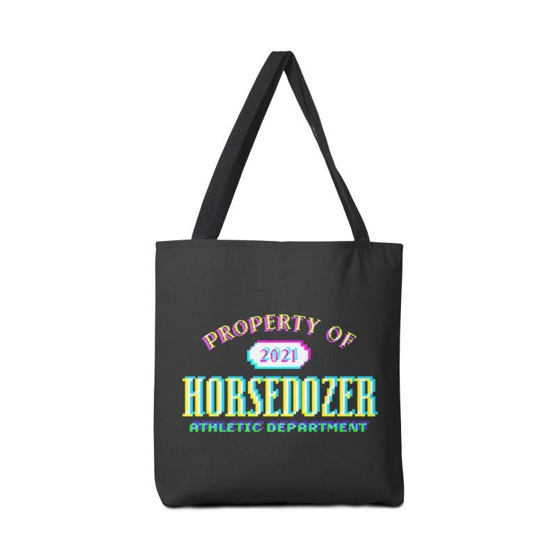 HORSEDOZER ATHLETICWAVE Accessories Bag by HORSEDOZER
