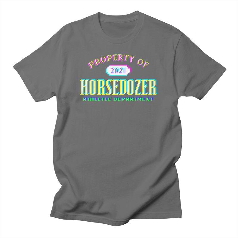 HORSEDOZER ATHLETICWAVE Men's T-Shirt by HORSEDOZER