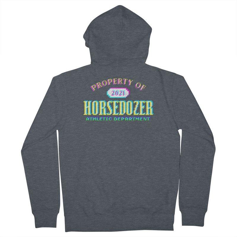 HORSEDOZER ATHLETICWAVE Women's Zip-Up Hoody by HORSEDOZER