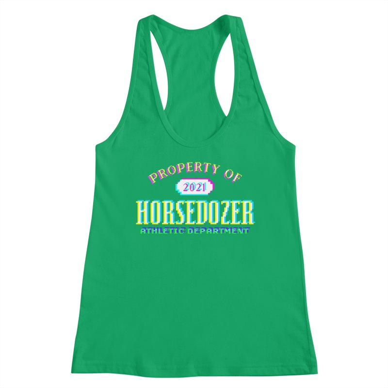 HORSEDOZER ATHLETICWAVE Women's Tank by HORSEDOZER
