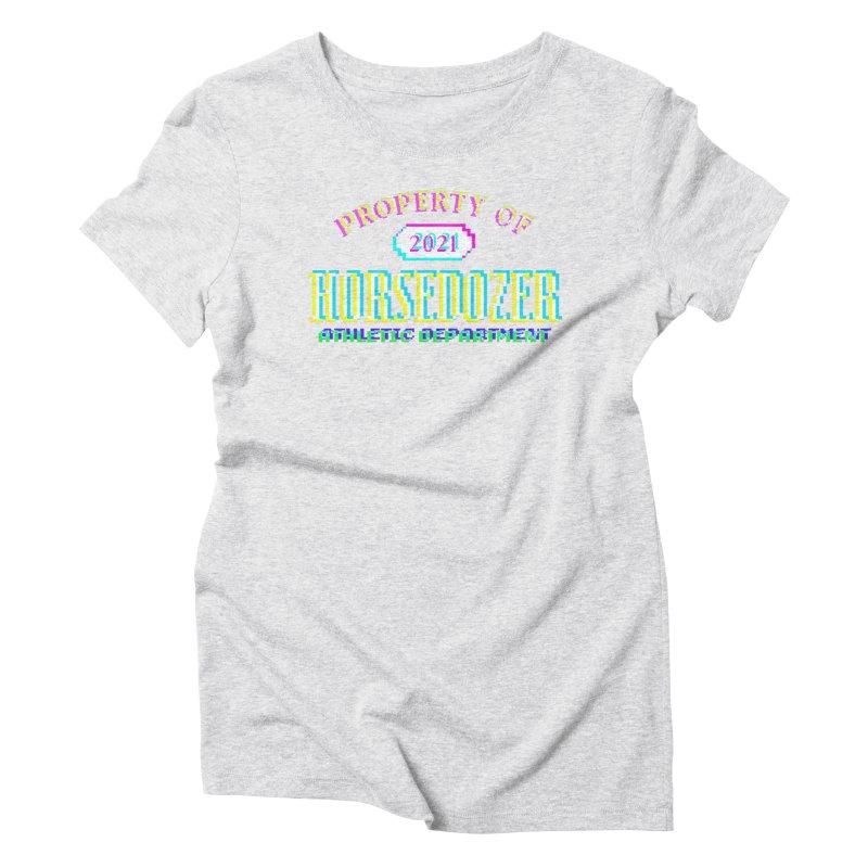 HORSEDOZER ATHLETICWAVE Women's T-Shirt by HORSEDOZER