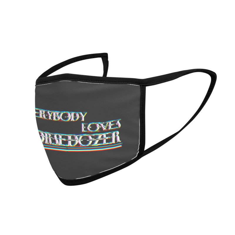 EVERYBODY LOVES HORSEDOZER (SS/21) Accessories Face Mask by HORSEDOZER